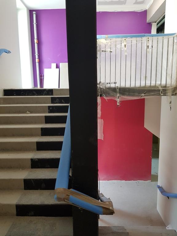 Essais de peinture pour les escaliers intérieurs — Rectorat DSDEN 59